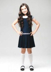 Vestido de escola para meninas direto
