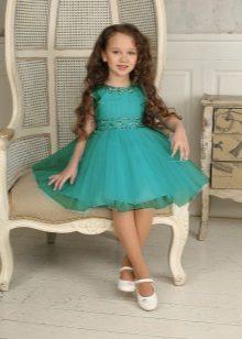 Jardim de infância colorido marinho do vestido do baile de finalistas