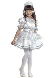 Vestido de Natal para meninas no estilo de dólares do bebê