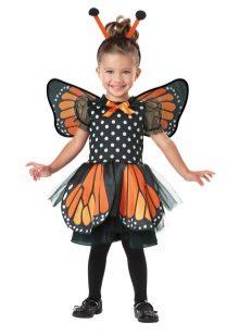 Vestido de Natal para meninas 2 anos de idade borboleta
