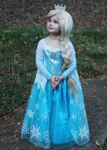 Vestido de ano novo para a menina Elza