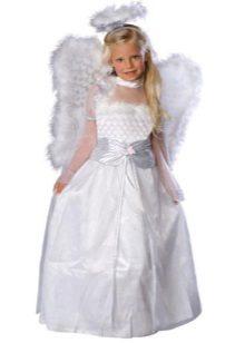 Vestido de Ano Novo e Natal Anjo para a menina