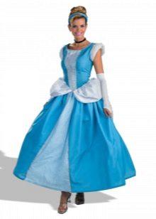 Vestido de ano novo Cinderela para uma linha garota