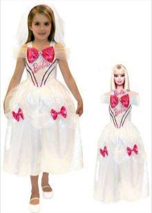 Vestido de Natal da Barbie para meninas