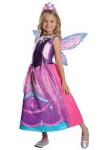 Vestido de Natal Fada Barbie para Meninas