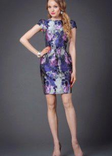 vestido elegante de tafetá