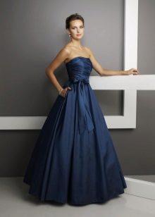 vestido de noite mais elegante feito de tafetá de acetato