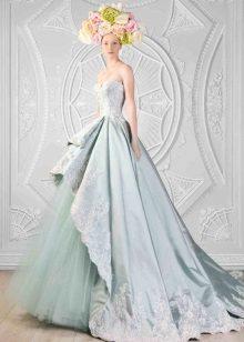 vestido de casamento tafetá sofisticado