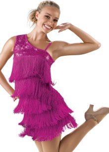 Рокля с ресни за танци
