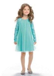 Vestido livre para meninas de 5 anos