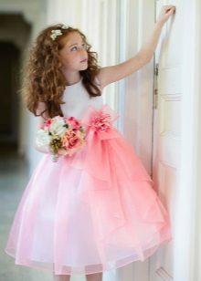 Vestido magnífico para a menina de 5 anos