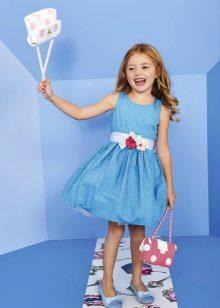 Acessórios para vestido elegante para meninas 5 anos