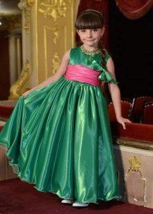 Vestido de formatura Império para meninas 5 anos