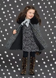 Tweed dress for girls 5 anos