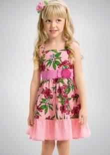 Vestido comprido para meninas 5 anos