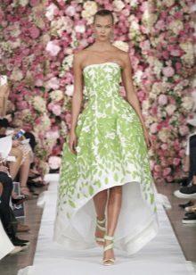 Salat valkoinen mekko