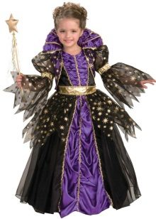 Vestido magnífico elegante de Ano Novo da Rainha para a menina
