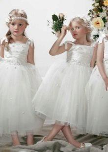 Vestidos magníficos de casamento para a menina