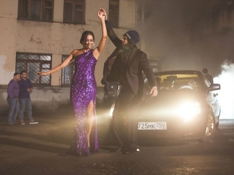 Eggplant dress from Timati's song
