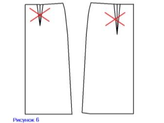 Darts zárása a szoknyában