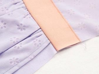Öltözködés felöltözése a ruhán - 6. lépés