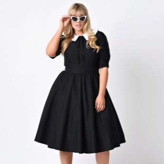 Berpakaian dengan skirt separa matahari untuk wanita gemuk
