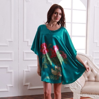 Silk Home Dress-Tunic