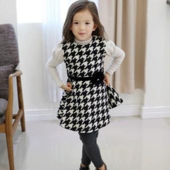 Vestido para meninas de 5 anos todos os dias