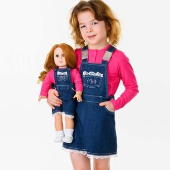 Vestido de verão para uma menina de 5 anos para todos os dias