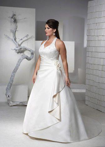 Vestit de núvia amb corretges completes