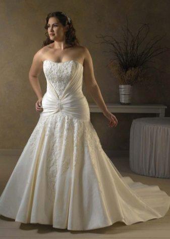Vestit de núvia amb cortines horitzontals complet