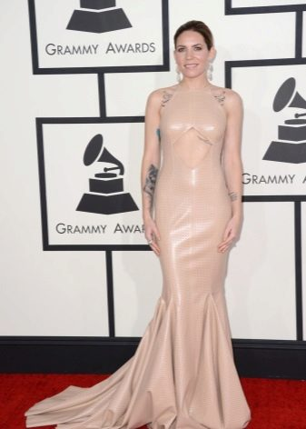 Celebrity dress nud efect de seara