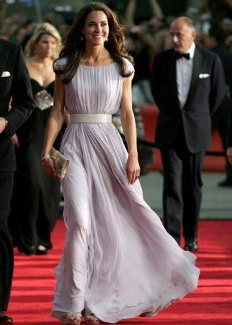 Pakaian lavender Kate Middleton
