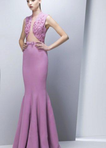 Pakaian duyung lilac malam