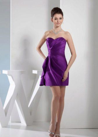 Kasut pakaian malam lilac