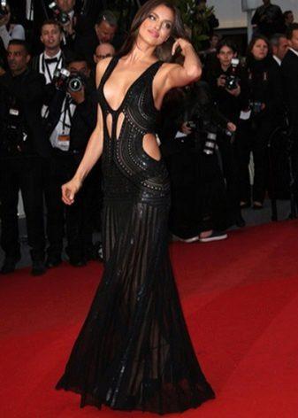 Ilta avoin mekko Irina Shayk
