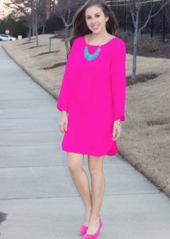 Fuchsia Dress Accessories