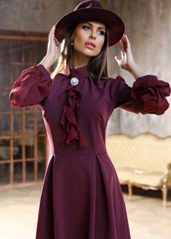 Marsala-värit vaatteissa