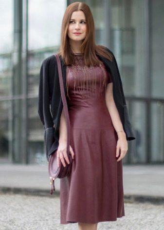 Marsala Casual Dress