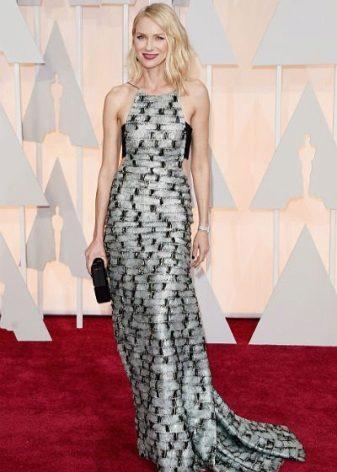 Gümüş elbise