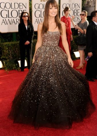 Brun kjole strålende smuk