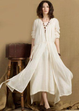 Milk Linen Dress