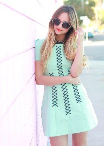 Casual Short Mint Dress