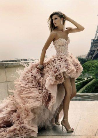 Rochia este murdar roz