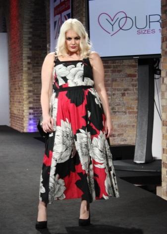 Vestit - vestits de tirants florals per a dones obesos