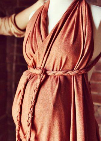 Encaixe de vestido