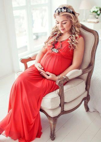 Bodyconjurk voor zwangere vrouwen Fotoshoot