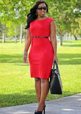 Sheath dress for full girls