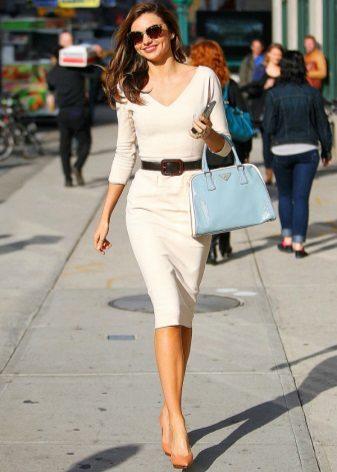 Sheath dress for skinny girls
