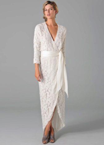 Lange kimono-jurk